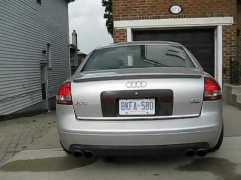 C5 Audi A6 4.2 with 20 inch wheels and LED tail lights