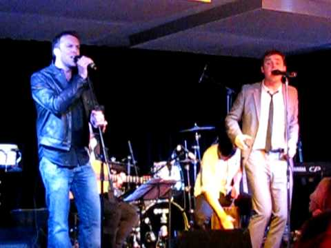 KEANE WITH GRAEME SWANN  @ FLORIDITA - THE LOVERS ARE LOSING