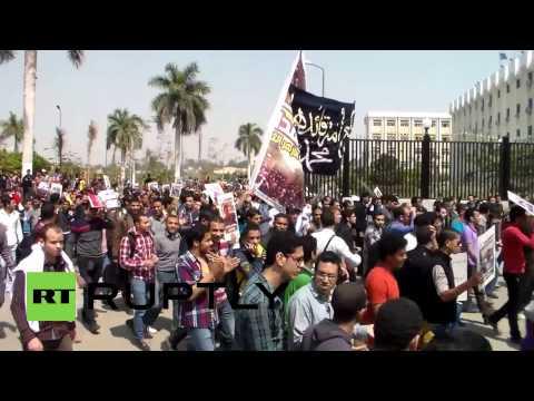 Egypt: Students protest Brotherhood death sentences