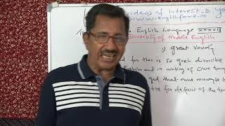 LECTURE 38 BY PROF. THOMAS MATHEW. THE HISTORY OF THE ENGLISH LANGUAGE.