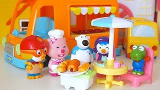 Pororo and Friends Food Truck Cooking Time Toy Soda