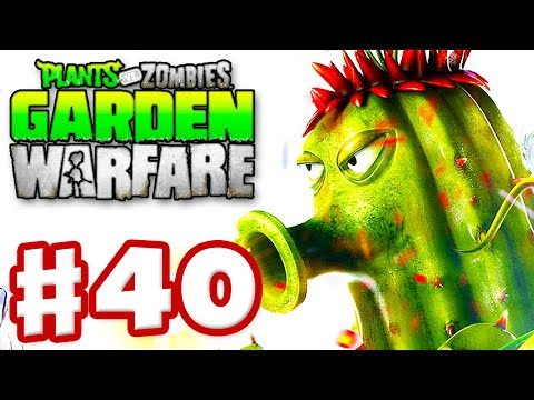 Plants vs. Zombies: Garden Warfare - Gameplay Walkthrough Part 40 - Gardens & Graveyards (Xbox One)