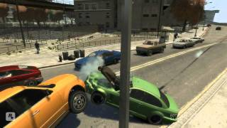 GTA 4 - Funny Moment Montage 7 (PC)