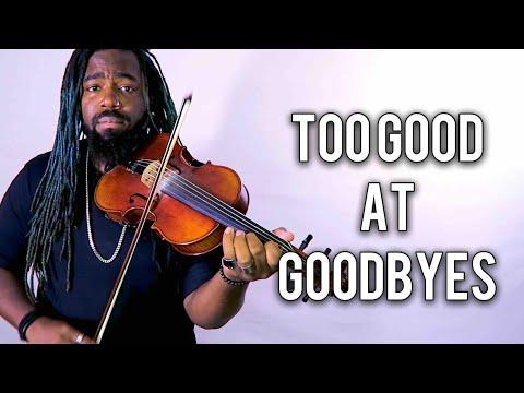 download lagu Too Good At Goodbyes Violin Version Sam Smith  gratis