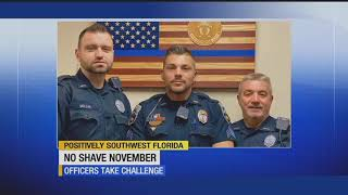 Naples police raise $4000 during No-Shave November