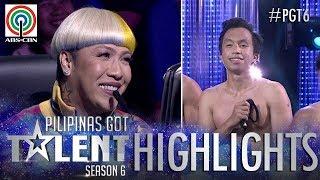 PGT 2018 Highlights: Vice di napigilan humugot sa pagkahulog ng isang contestant
