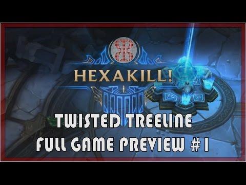 LoLPoV - Hexakill Twisted Treeline Preview #1 - Morgana- League of Legends