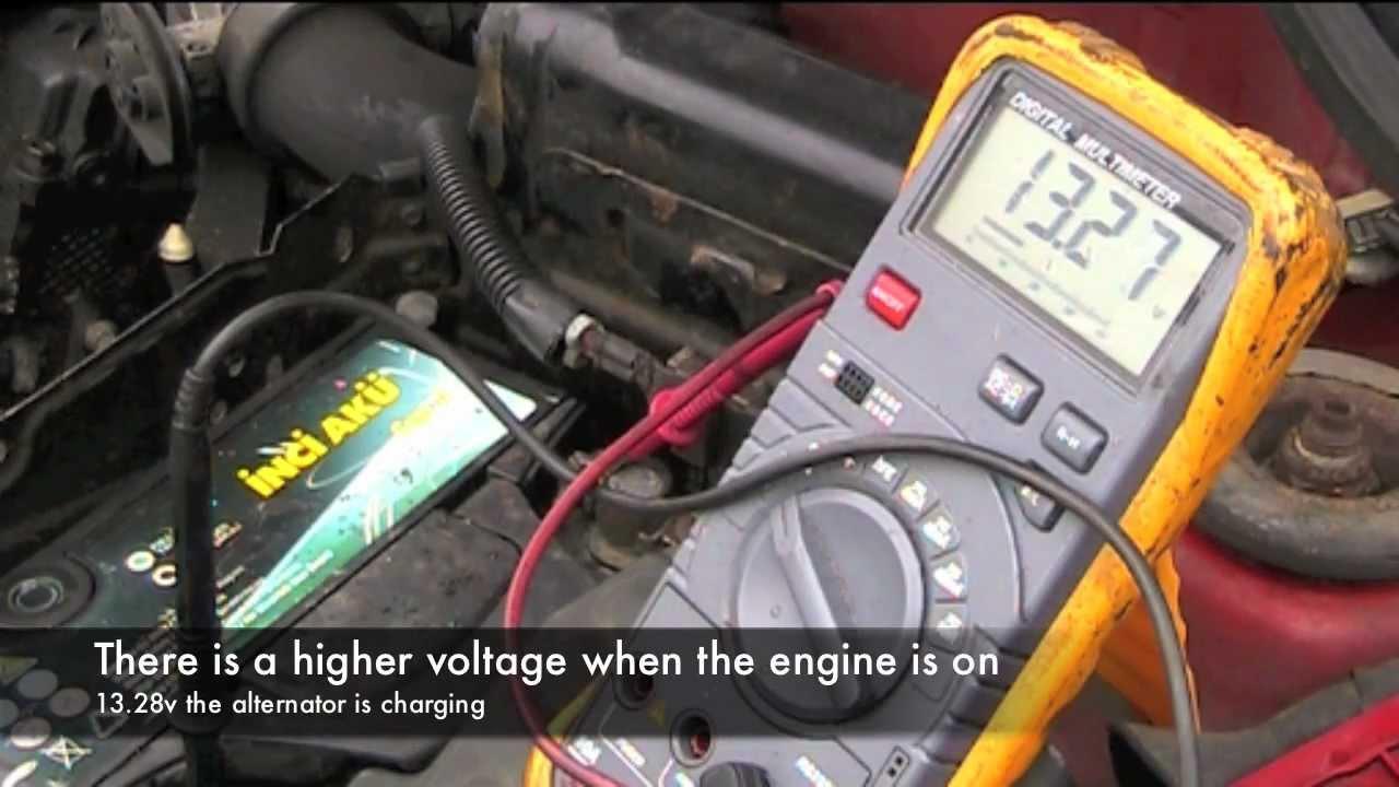 Renault Clio Alternator Wiring Diagram : Renault clio alternator repair youtube