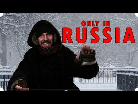 Road Rage, Vodka and Snow - It's the Only in Russia Episode