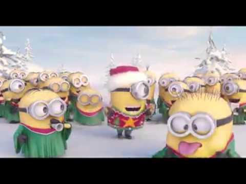 Minionki świąteczna Piosenka