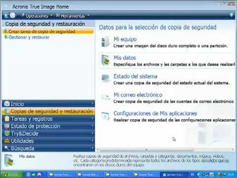 Clonar discos duros Acronis True Image Home Windows Ubuntu