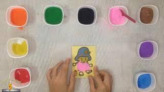 Trò Chơi Trẻ Em Bé Su Tô Màu Tranh Cát Em Bé   ToysReview   BB Channel