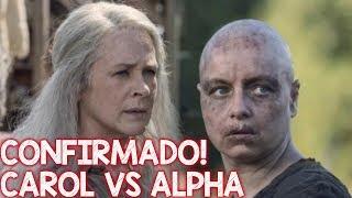 The Walking Dead CONFIRMADO CAROL vs ALPHA  na 10 temporada - Guerra dos sussurradores