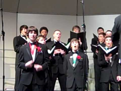 Archbishop curley high school choir's Schola sings stand by me