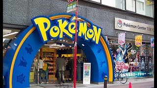 Visiting THE REAL LIFE POKEMON CENTER!!