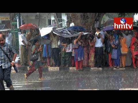 Sudden Weather Change In Hyderabad | Telugu News | Hmtv