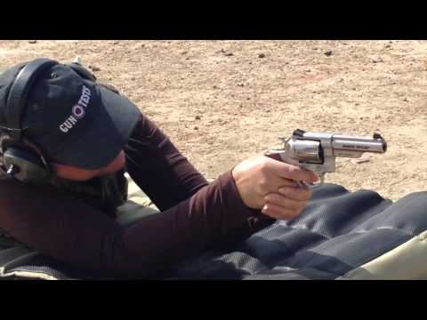Dec 2014: Ruger GP100 Match Champion 357 Magnum Revolver Review
