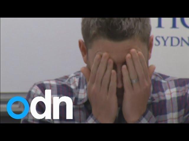 Phillip Hughes dies: Australian captain Michael Clarke fights back tears