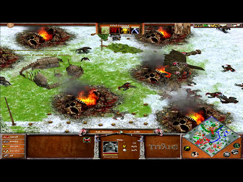 Age of Mythology The Titans Expansion - Jugando con MAFC con trucos