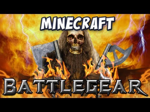 Minecraft - Battlegear Mod - Duel Wielding, Maces, Waraxes and Shields! Music Videos