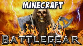 Minecraft - Battlegear Mod - Duel Wielding, Maces, Waraxes and Shields!