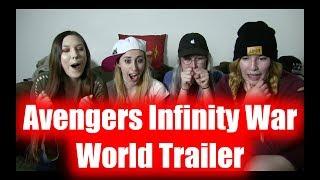 The Avengers Infinity War World Trailer