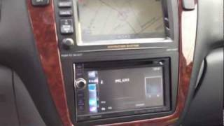 2003 Acura MDX Pioneer Navigation Upgrade Camera Bluetooth A2DP