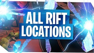 All Fortnite Rifts Locations - Fortnite Season 5 Rifts & Where to find them