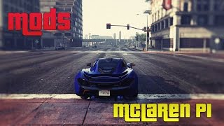 GRAND THEFT AUTO V (GTA 5) MODS | MCLAREN P1 | 5K PC GAMEPLAY | ThirtyIR.com