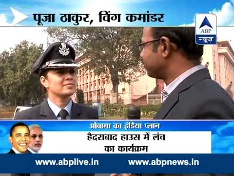 Guard of Honour: Air Force wing commander Pooja Thakur leads Guard of ...