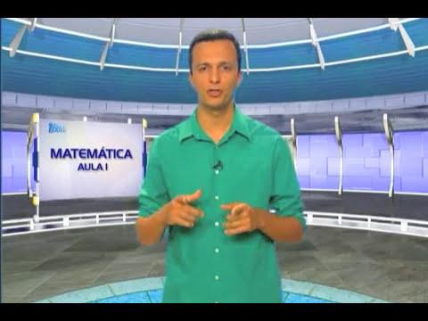Aula 1 -  Matemática - Interpretação de gráficos