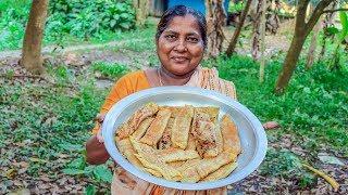 Bengali Patishapta Pitha Making Recipe by Village Food Life