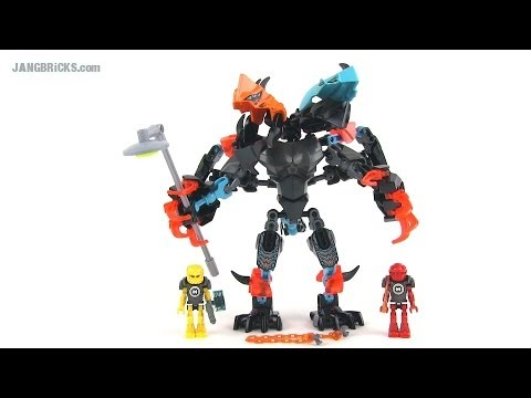LEGO Hero Factory 44021 Splitter Beast vs Furno & EVO (Invasion from Below) set review!