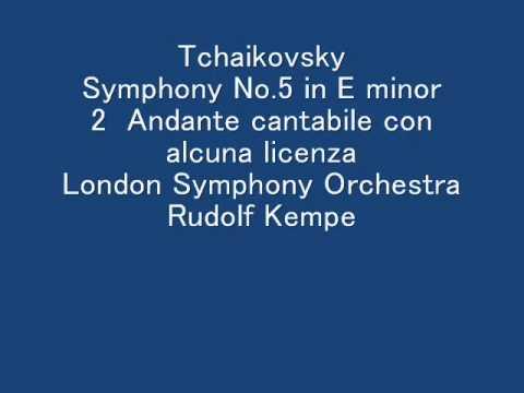 Tchaikovsky-Symphony No. 5 in E minor Opus 64