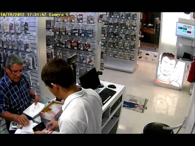 Robo Tienda Barquisimeto 3DS