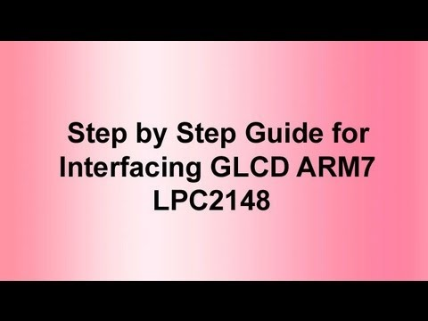 Arm7 Lpc2148 Glcd With Arm7 Lpc2148