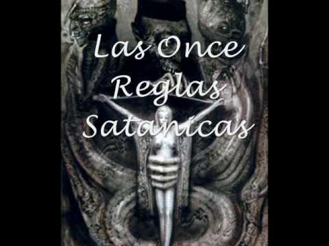 Las 11 reglas satanicas, las 9 declaraciones satanicas y los 9 pecados satanicos.
