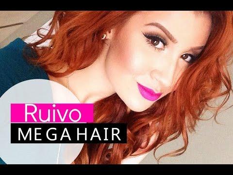 Tudo sobre meu cabelo: Ruivo e Mega Hair!!!