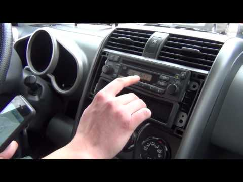 GTA Car Kits - Honda Element 2003-2011 iPod, iPhone, iPad and AUX adapter installation