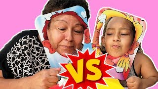 Maria Clara Brincando de Desafio Torta na Cara - Família MC Divertida1