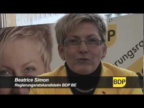 Wahlkampf von Beatrice Simon gleicht dem Kampf von David gegen Goliath.