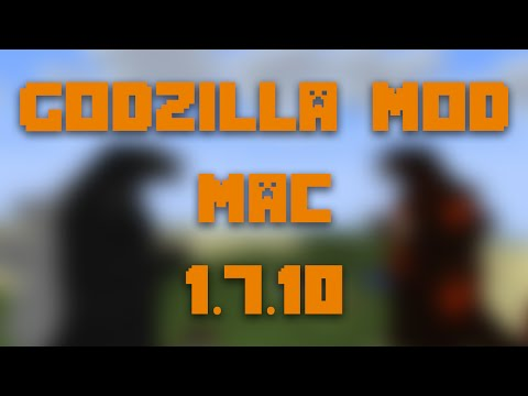 How to Install the Godzilla Mod for Minecraft 1.7.10 [Mac]