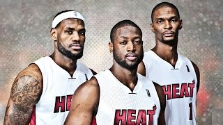 LeBron James Rejoins Miami Heat with Dwyane Wade and Chris Bosh
