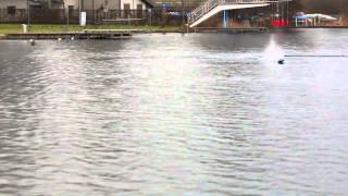 Very fast RC boat Traxxas Spartan Tuning 6S HD