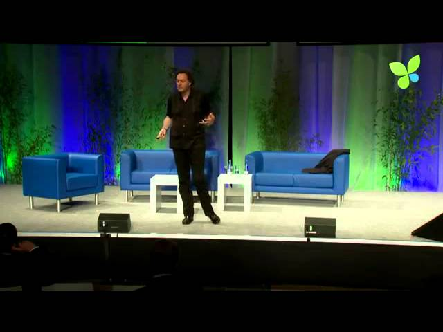 From Ego to Eco: Futurist and Keynote Speaker Gerd Leonhard at EcoSummit 2012