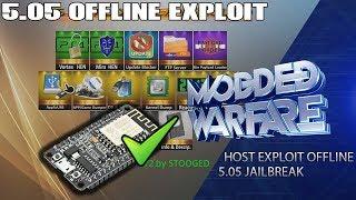 Hosting 5.05 Exploit Offline Using ESP8266 (PS4 Jailbreak)