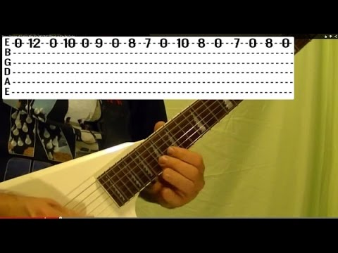 How to Play GOOD BYE TO ROMANCE Solo by RANDY RHOADS, With Tabs