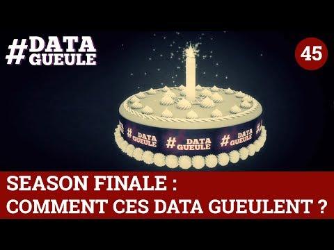 Season Finale : Comment ces data gueulent ? #DATAGUEULE 45