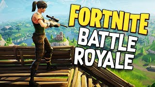 Building DESTRUCTION, RARE WEAPONS, and EPIC KILLSTREAKS! -  Fortnite Battle Royale Gameplay
