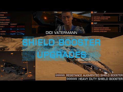 Elite Dangerous: How To Shield Booster Upgrades (POST 2.1.05 PATCH)